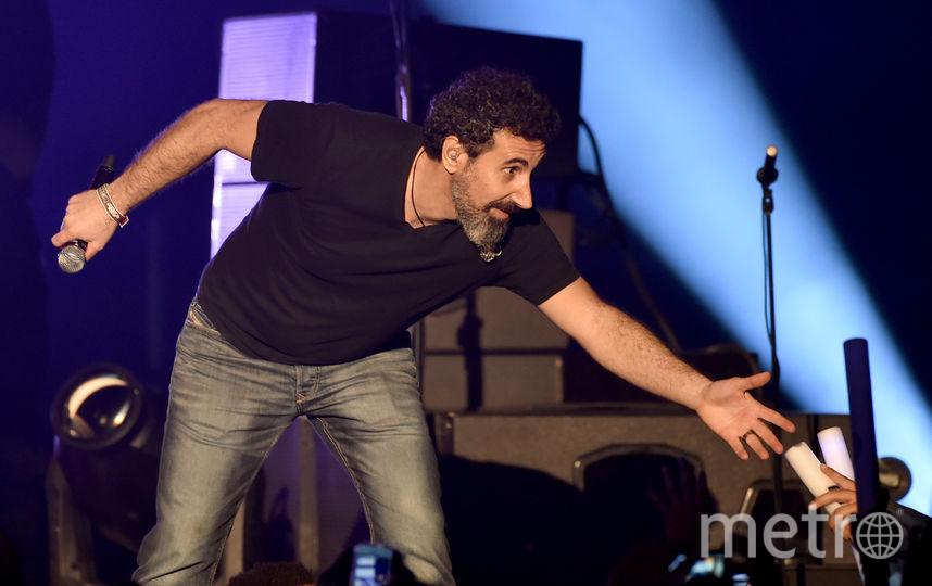 Серж Танкян. Фото Getty