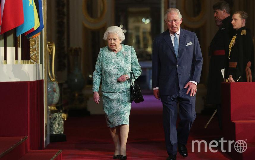 Елизавета II и принц Чарльз. Фото Getty