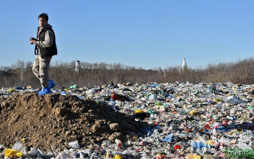 Свалка в Курьяново. Фото Василий Кузьмичёнок