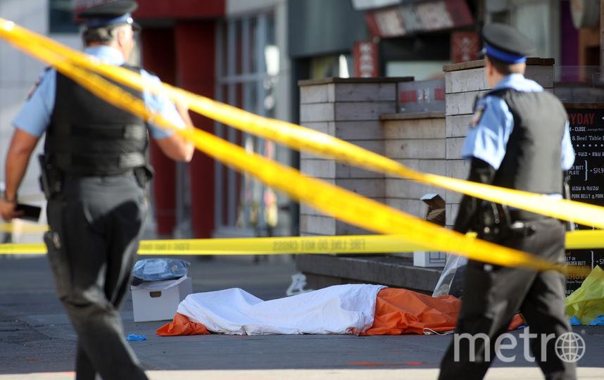 Трагедия произошла на фоне проходящих в городе встреч глав МИД и МВД стран G7. Фото AFP