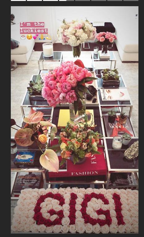 Джиджи Хадид отметила день рождения и поделилась фото в Instagram. Фото скриншот https://www.instagram.com/gigihadid/