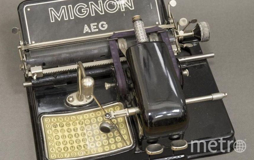 """Печатные машинки стали экспонатами. MIGNON. Фото Алена Бобрович, """"Metro"""""""