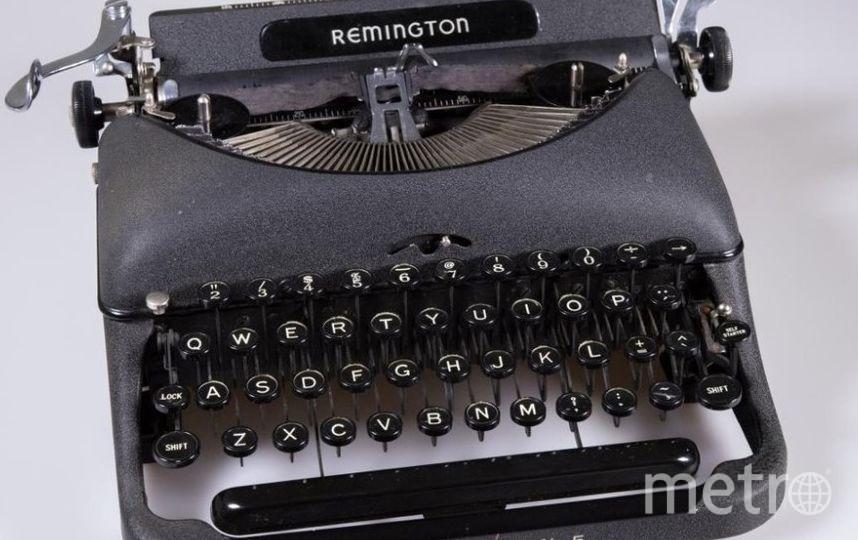 "Печатные машинки стали экспонатами. REMINGTON. Фото Алена Бобрович, ""Metro"""