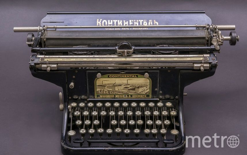 "Печатные машинки стали экспонатами. CONTINENTAL. Фото Алена Бобрович, ""Metro"""