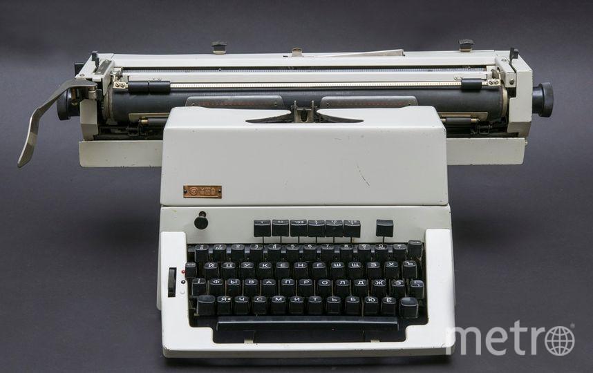 """Печатные машинки стали экспонатами. Фото Алена Бобрович, """"Metro"""""""