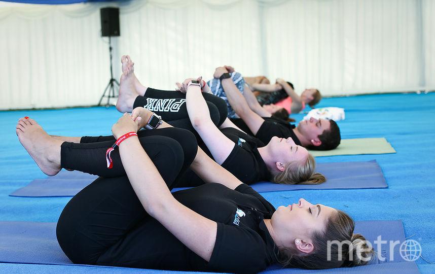 Любителей йоги ждут в британском Рединге. Фото Yogafestival.world