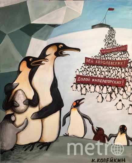 """30 художников стали участниками выставки. Всего в галерее """"Свиное рыло"""" представлено 70 картин. Фото предоставлены организаторами"""