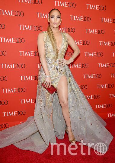 Красная дорожка Time 100 Gala-2018. Джей Ло. Фото Getty