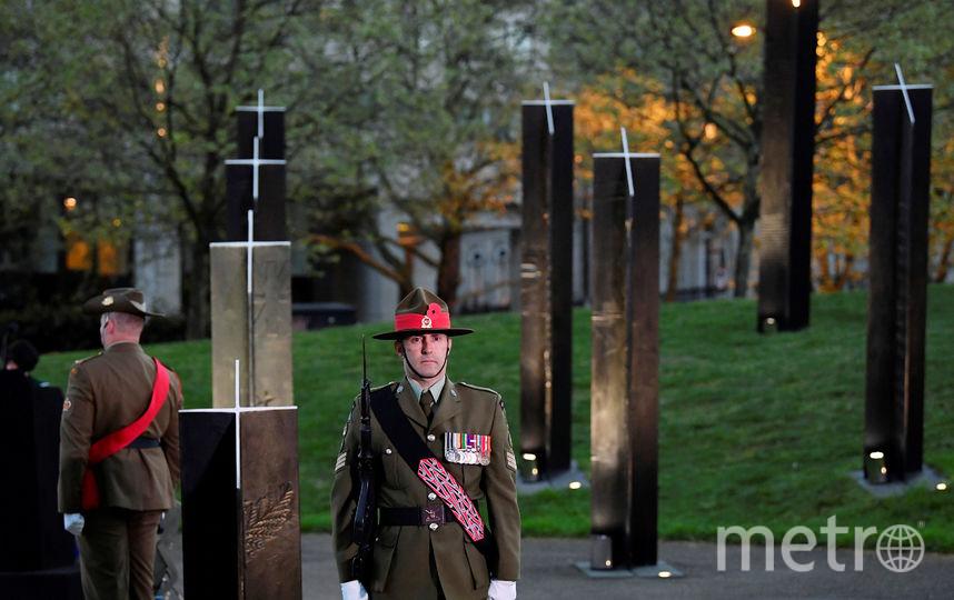 Памятное мероприятие, посвященное событиям Первой мировой войны. Фото Getty