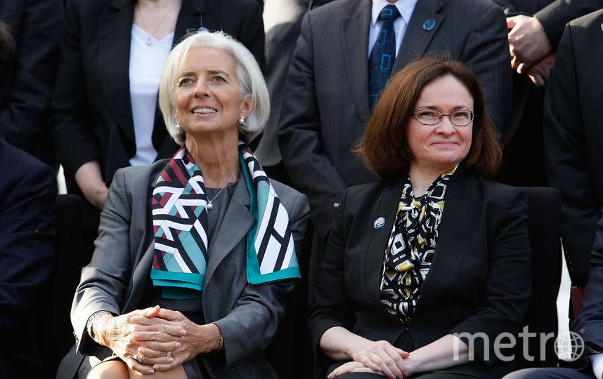 Эльвира Набиуллина (справа). Фото Getty