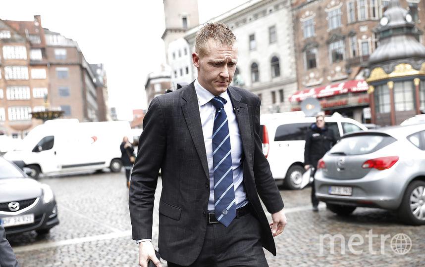 Прокурор Якоб Буч-Джепсен прибыл в суд в Копенгагене 25 апреля 2018 года. Фото AFP