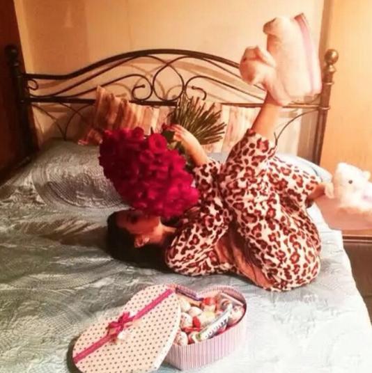 """Победительница конкурса """"Российская красавица 2018"""" Ирина Сафронова. Фото www.instagram.com/zametnaya369black"""