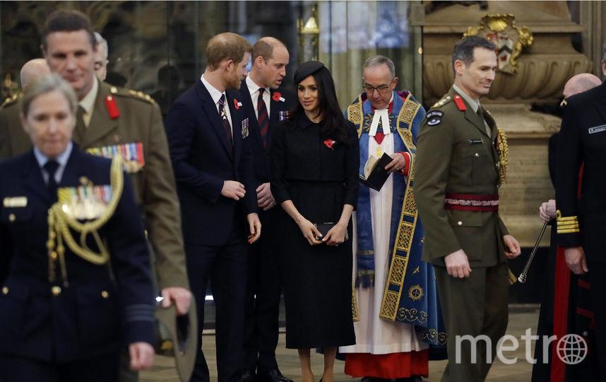 Служба прошла в Вестминстерском аббатстве. Фото Getty