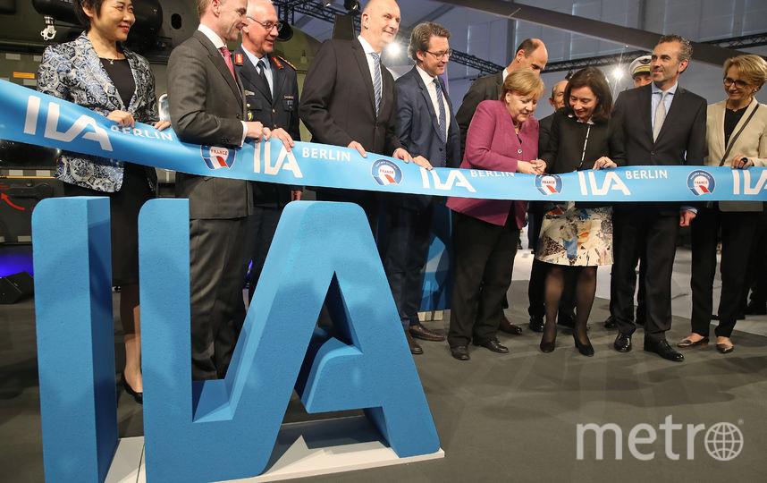 ILA Berlin Air Show 2018. Ангела Меркель. Фото Getty