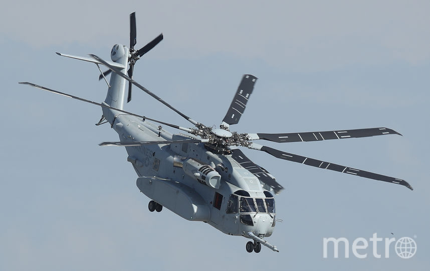 ILA Berlin Air Show 2018. Sikorsky CH-53 King Stallion. Фото Getty