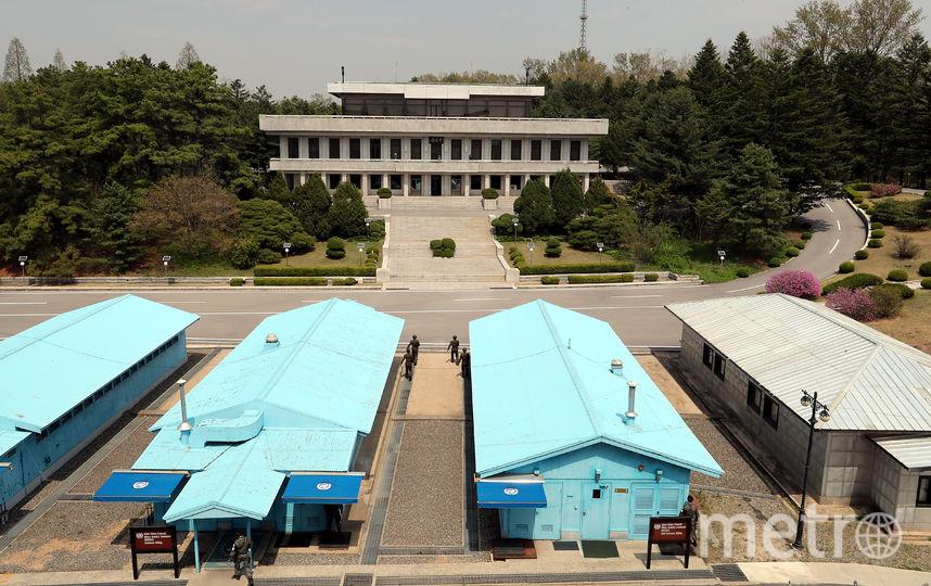 Демилитаризованная зона (ДМЗ). Фото AFP