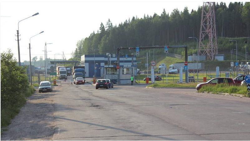 ФСБ предупреждает о«майских» пробках награнице сФинляндией