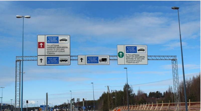 Вмайские праздники ожидаются пробки награнице сФинляндией иЭстонией— ФСБ