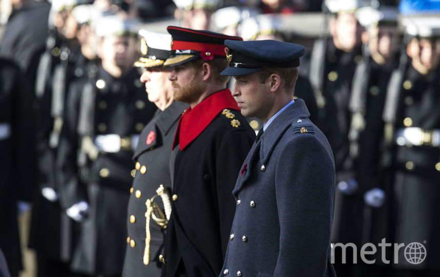 Принц Уильям и принц Гарри. Фото Getty