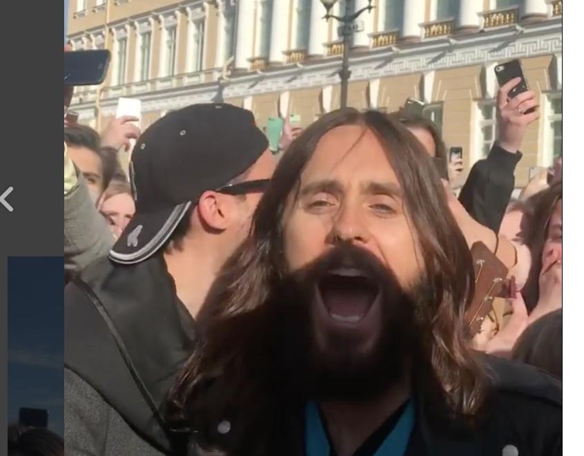 Джаред Лето в Петербурге. Фото instagram.com/hudobica