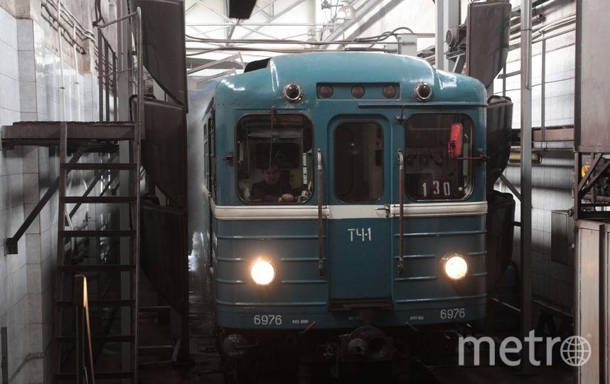 Ночной поезд начнет курсировать вметро Петербурга с30апреля