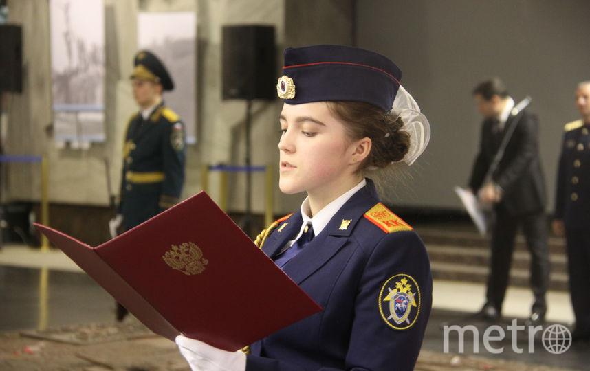 В кадетском корпусе учатся девочки и мальчики. Фото Санкт-Петербургский кадетский корпус Следственного комитета РФ.
