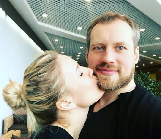Елена Летучая с мужем. Фото www.instagram.com/elenapegas
