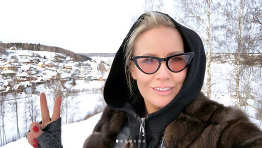 Елена Летучая, телеведущая. Фото www.instagram.com/elenapegas