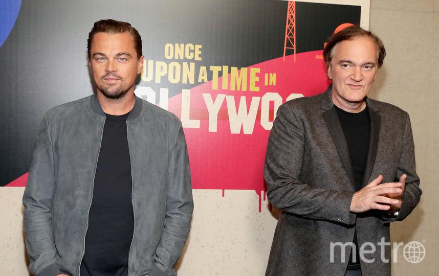 CinemaCon-2018. Леонардо ДиКаприо и Квентин Тарантино. Фото Getty