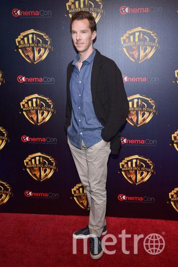 CinemaCon-2018. Бенедикт Камбербэтч. Фото Getty