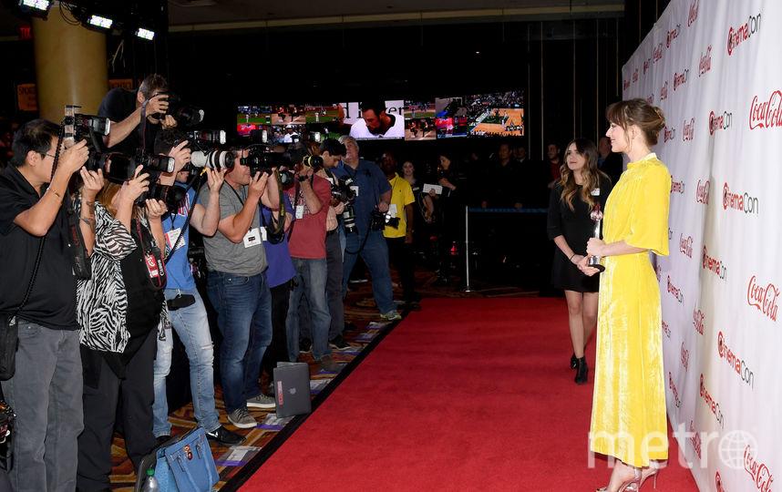 CinemaCon-2018. Дакота Джонсон. Фото Getty