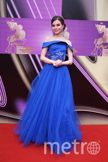 Мисс Россия-2018 Юлия Полячихина на церемонии закрытия ММКФ. Фото предоставлено пресс-службой ММКФ