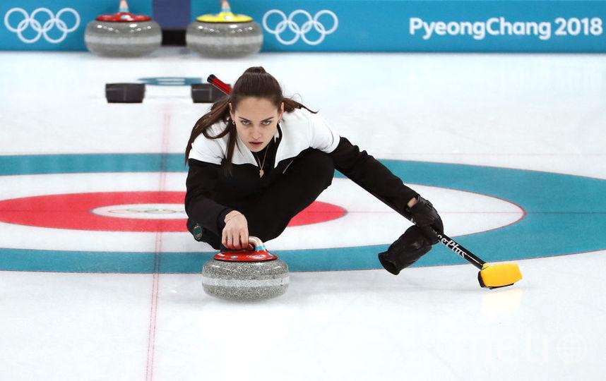 Анастасия Брызгалова, кёрлингистка. Фото Getty