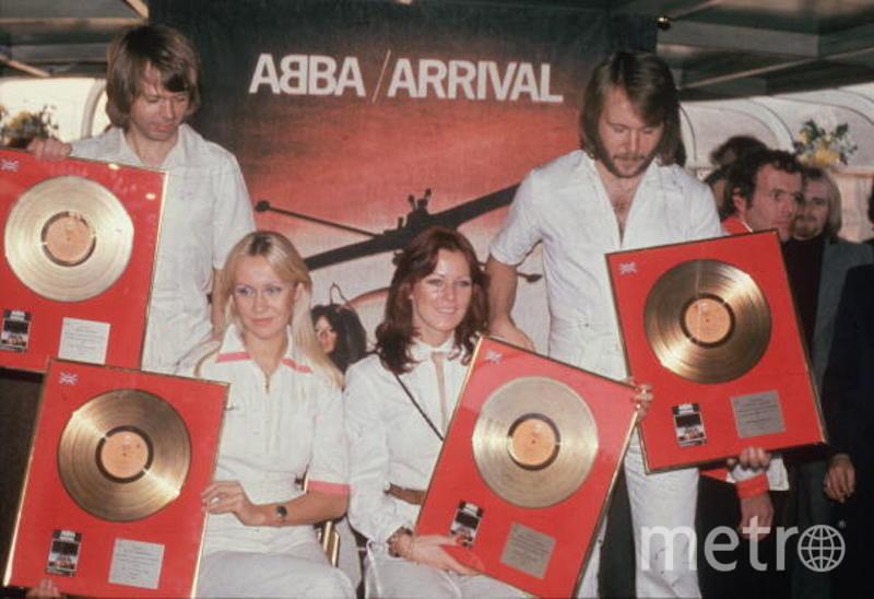 ABBA. Фото Getty