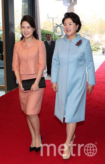 Первые леди. Фото AFP