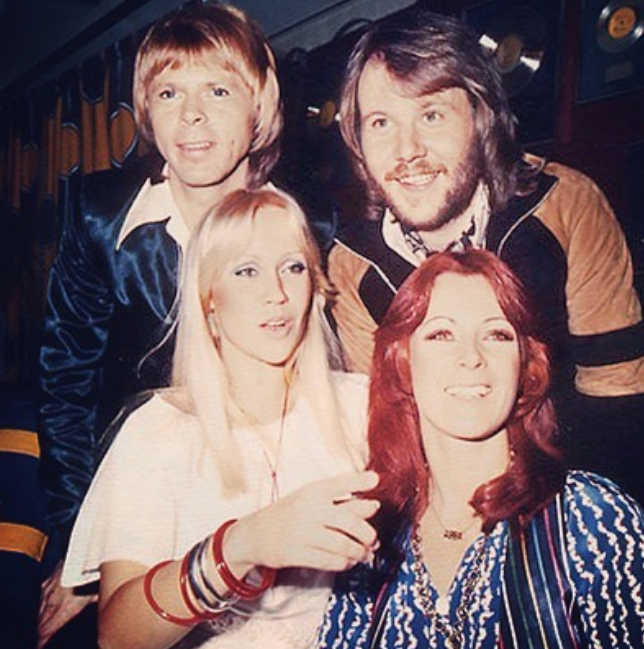 ABBA. Фото Instagram @abbaofficial