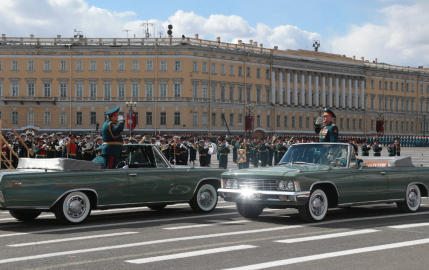 Парад Победы в Петербурге - 2017. Фото gov.spb.ru