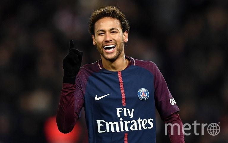 Бразильский футболист Неймар. Фото AFP