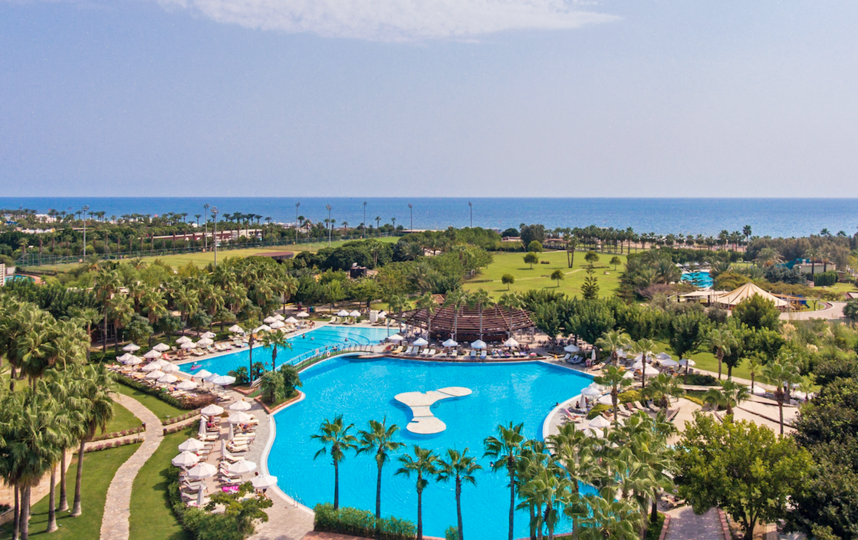 Терриитория отеля в районе Лара. Фото Barut Hotels., Предоставлено организаторами