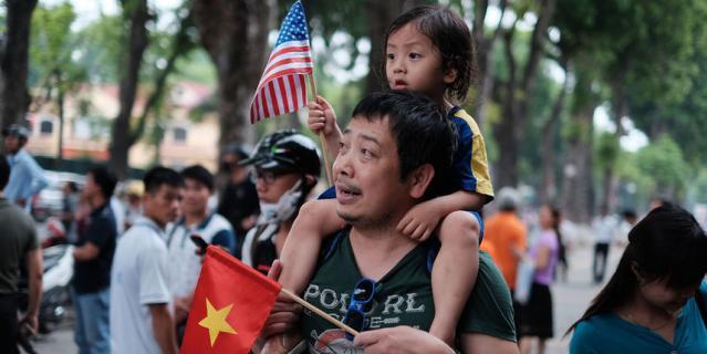 Современные вьетнамцы не чувствуют обиды по отношению к американцам.
