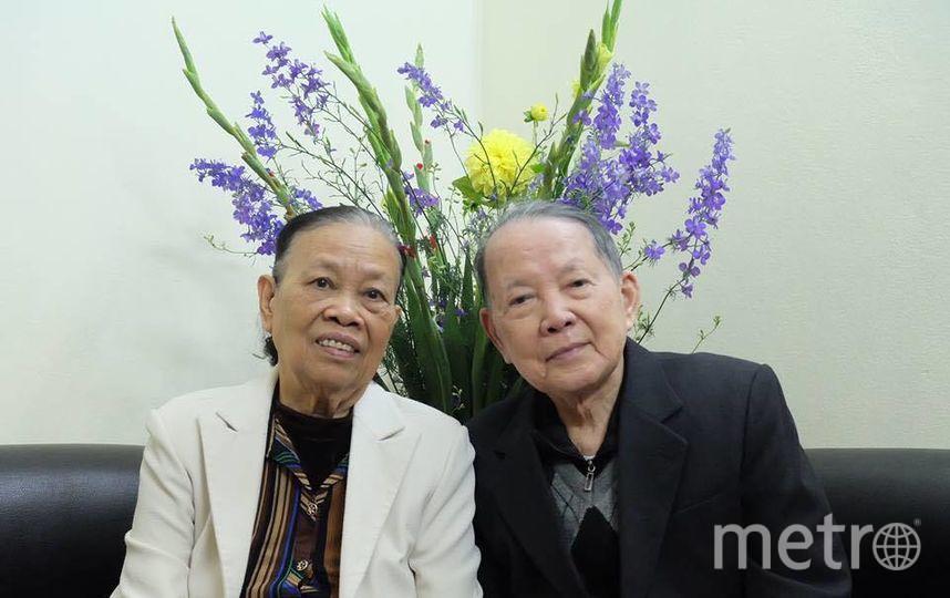 "Мои бабушка и дедушка. Фото Алина Данг, ""Metro"""