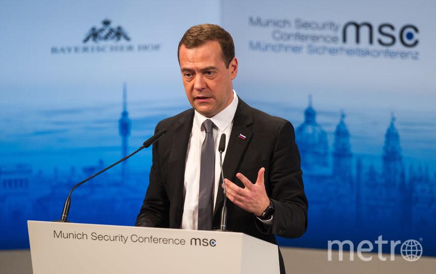 Дмитрий Медведев. Фото Getty