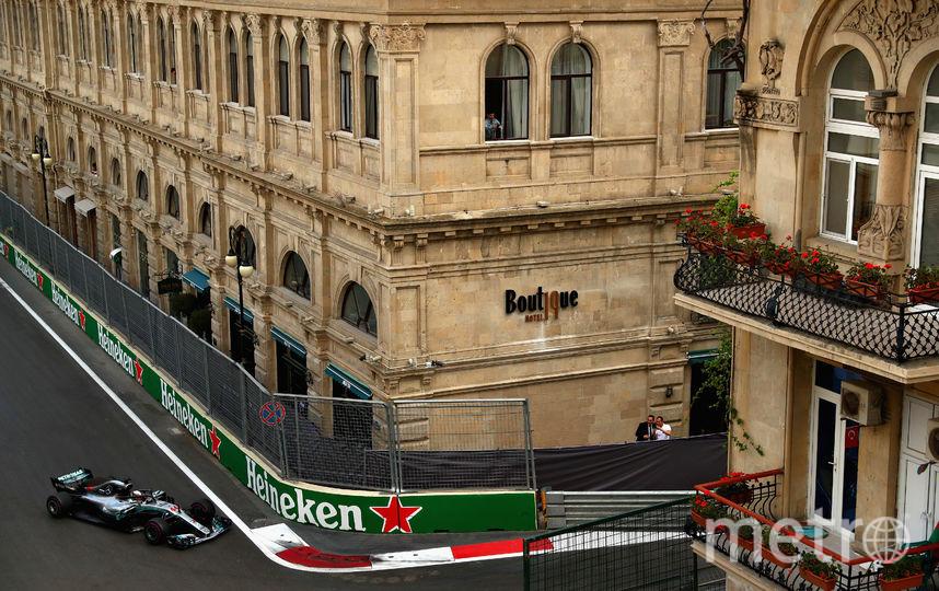 Городская трасса в Баку. Фото Getty