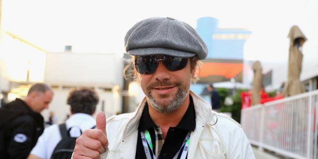 """Британский певец Джей Кеи на """"Формуле-1""""."""