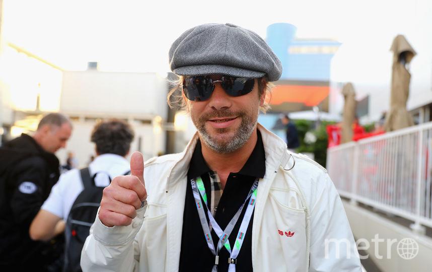 "Британский певец Джей Кеи на ""Формуле-1"". Фото Getty"