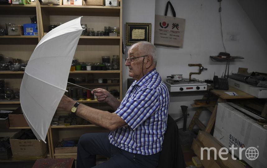 Уплотнитель зонтов, Аргентина. Фото AFP
