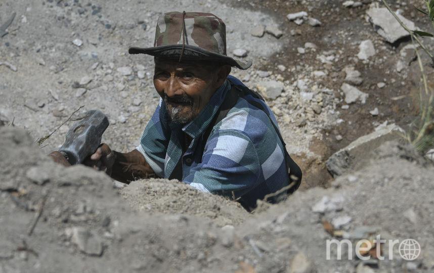 Каменотёс, Гондурас. Фото AFP