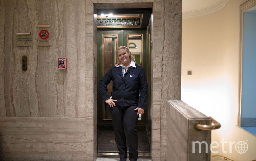 Лифтёр, Бразилия. Фото AFP