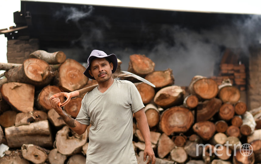 Кирпичник, Сальвадор. Фото AFP