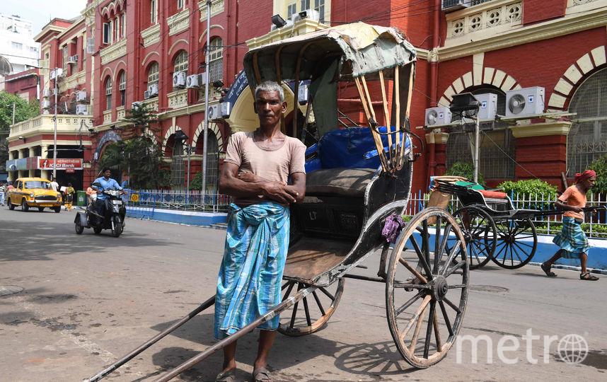 Рикша, Индия. Фото AFP